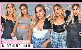 TRY ON CLOTHING HAUL! 💕 *some fails* 👚 Pretty Little Thing & Aim'n Activewear