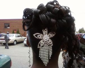 Thanks to my amazing hairdresser..
