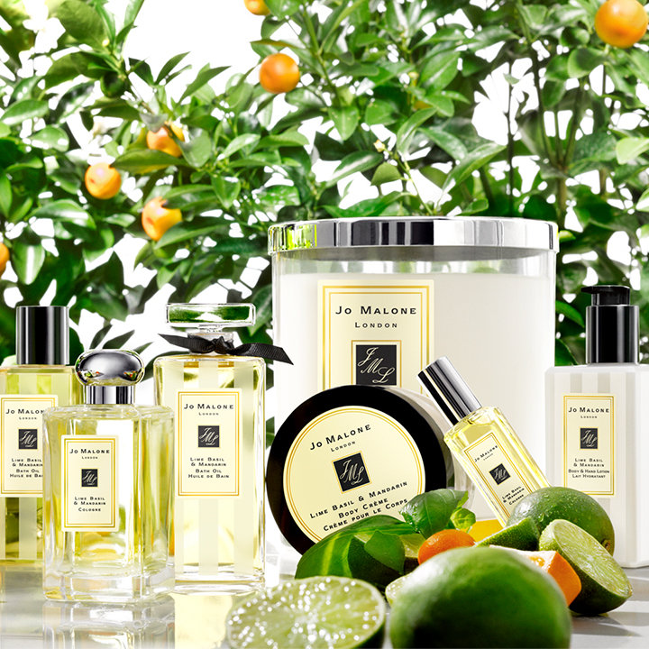 Citrus scents from Jo Malone London