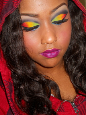 *the colors represent the skittles Justice for Trayvon Martin #HoodiesUp R.I.P
