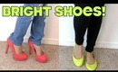Fashion Friday: Styling Bright Colored Shoes