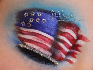 Happy almost 4th everyone! I will be posting more wearable looks as well on my page, facebook.com/madeulookbylex. Be safe this holiday everyone! <3