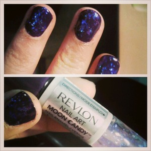 first time trying this new revlon moon candy I like so far