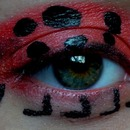 Creative makeup- Ladybird :o)