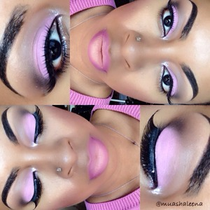 It's spring! Wear a lil pink! Check out my tutorial for this look on my youtube channel www.youtube.com/beautysosweet08   Follow Me on Instagram @muashaleena