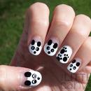 Panda Nail Art!