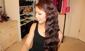 Beachy Waves Hair Tutorial!