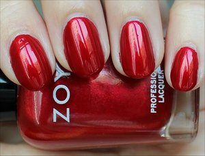 See more swatches & my review here: http://www.swatchandlearn.com/zoya-elisa-swatches-review/