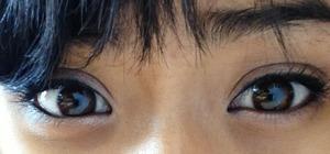 I liked my eyes ^_^