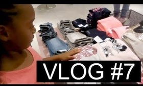 Vlog #7: Shopping, Dirty Hands, Layoff & Dancing