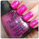 China Glaze - Purple Panic & NUBAR - Cotton Candy Crush