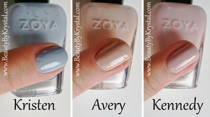 Getting ready for Spring with Zoya's Feel collection