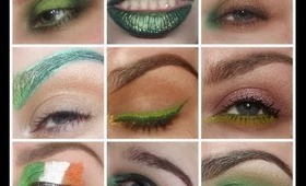 Guide To St. Patrick's Day Make-up/9 Ways To Wear Green