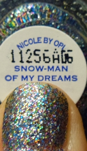 Nicole by OPI Snow-Man of My Dreams
