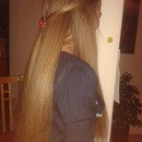 Rachelle H.'s hair straighted today! Straight and beautyful
