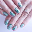 Flower Pattern Nail Design