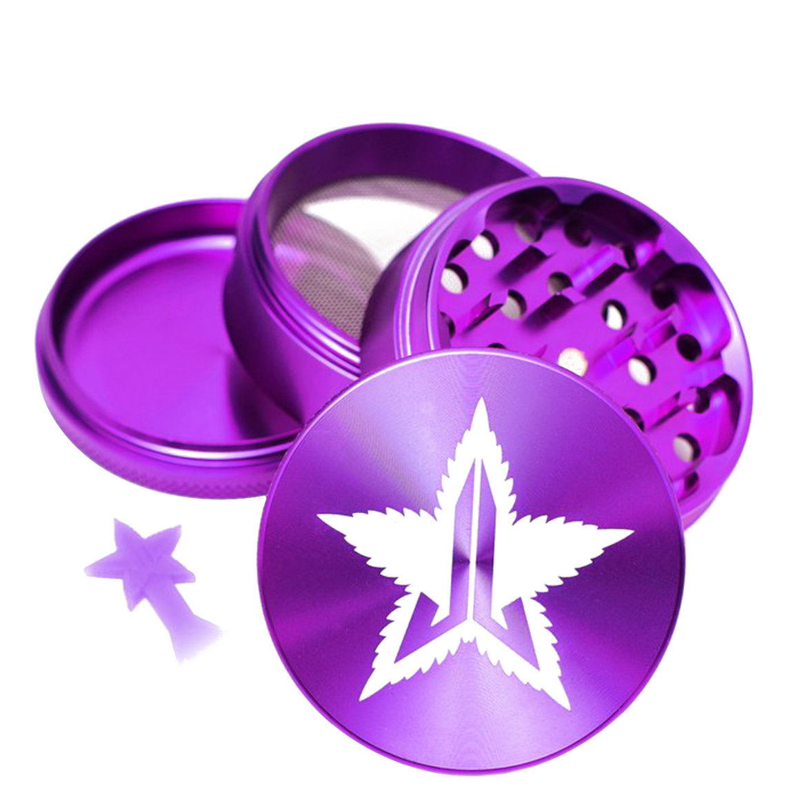Jeffree Star Cosmetics 63mm Grinder Violet alternative view 1 - product swatch.