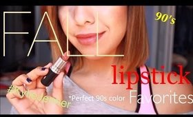 TOP FALL LIP COLORS 2014: 1990's   Kylie Jenner Inspired