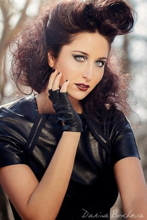 ©Darina Boycheva Photography Wardrobe Stylist - DaMara Altman Hair Stylist - Yajaira Daniel  https://www.facebook.com/HillaryHuntMUA