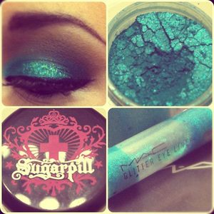 March Makeup Challenge Day 5 - Glitter