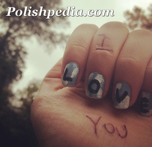 Our new nail artist's first post on Polishpedia.com!  Let Alyssa know what you think of her nail art by visiting our site and commenting on her posts.  http://polishpedia.com/love-nails.html