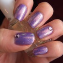 Pure Ice New Lilac and Essie Shine of the Times