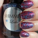 Shimmer Leslie (Layered Over a-england Rose Bower)