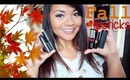 Top 5 Favorite Fall Lipsticks | Drugstore & High-End Products ♡