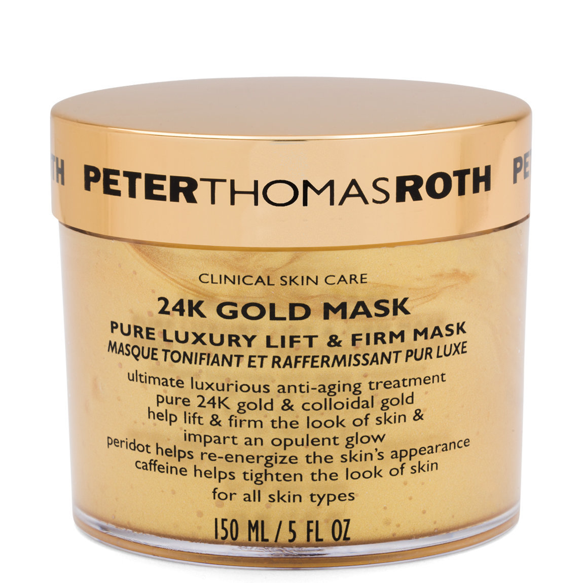 Peter Thomas Roth 24K Gold Mask product swatch.