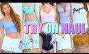SUMMER CLOTHING HAUL | Try On 2016
