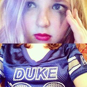 Duke makeup is like my Duke team