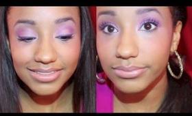 October Birthstone Makeup Look [Crystal Opal & Pink]