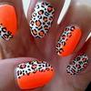 ;Cheetah nails