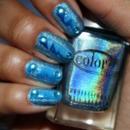 Blue Holographic Awesomeness