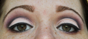 Purple Cut-Crease