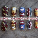 Iron Man 3 Nail Art