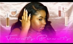 Fenty Beauty Makeup Tutorial & Review