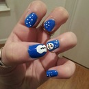 Holiday Nails 2.0: SNOWMEN!!