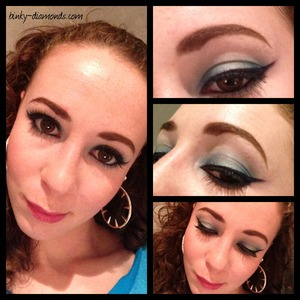 Face of the day using the Jasmin Palette by Sephora :)