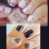 Nails are soo pretty inspired me