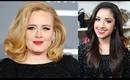Adele's Grammy Makeup Look