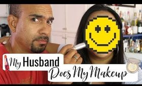 My Husband Does My Makeup (7.16.19) | Tina Roxanne