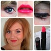 Bold lip look :)