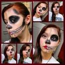 Half Skull Half Beauty