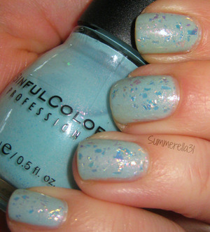 Sinful Colors Cinderella and China Glaze Luxe and Lush