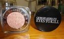 Splurge or Save? Giorgio Armani Eyes To Kill Eye Shadow vs. L'Oreal Infallible Eye Shadow