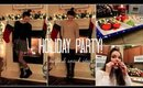Holiday Party Outfits + Holiday Snack Ideas!