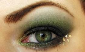 Holiday Greens Makeup tutorial