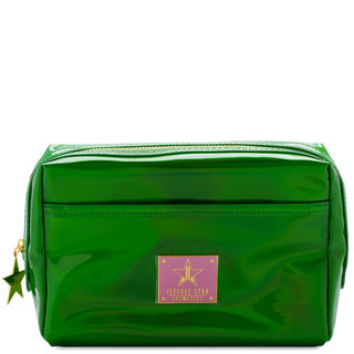 Makeup Bag Holographic Alien Green