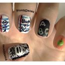 Back to School Nails - PinkNSmiles
